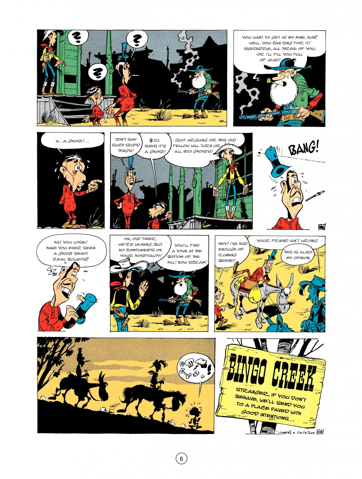 Read online A Lucky Luke Adventure comic -  Issue #2 - 8