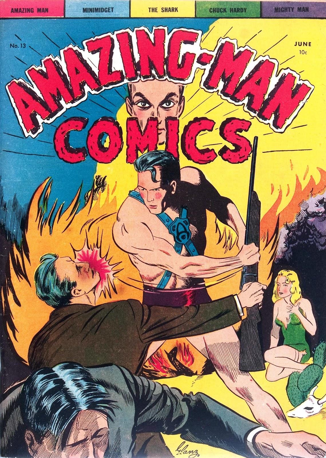 Amazing Man Comics issue 13 - Page 1