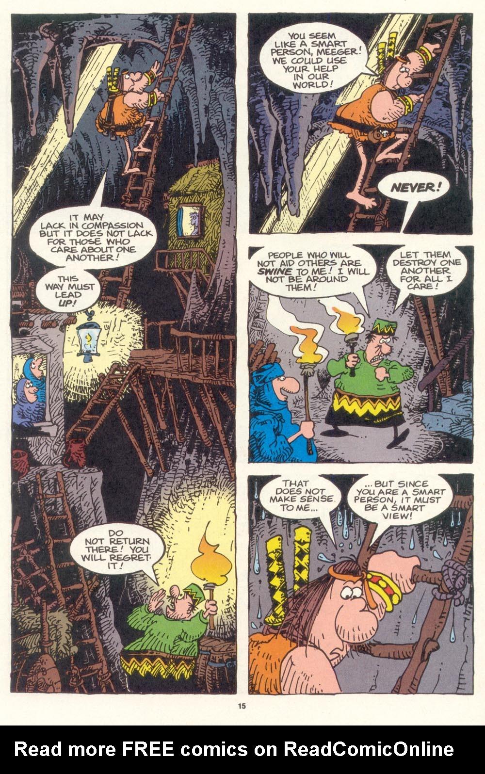 Read online Sergio Aragonés Groo the Wanderer comic -  Issue #119 - 16