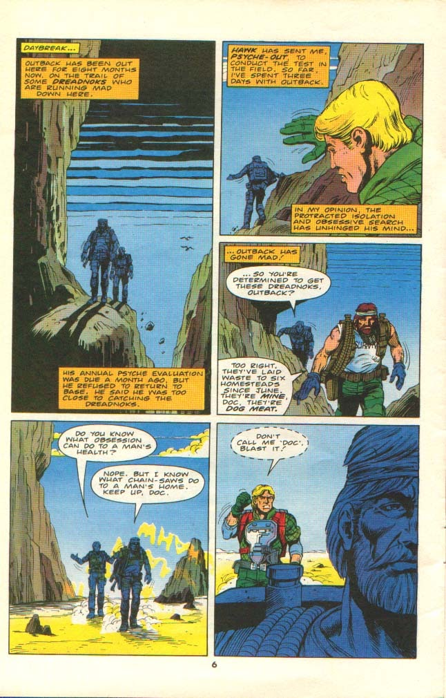 G.I. Joe European Missions issue 11 - Page 5