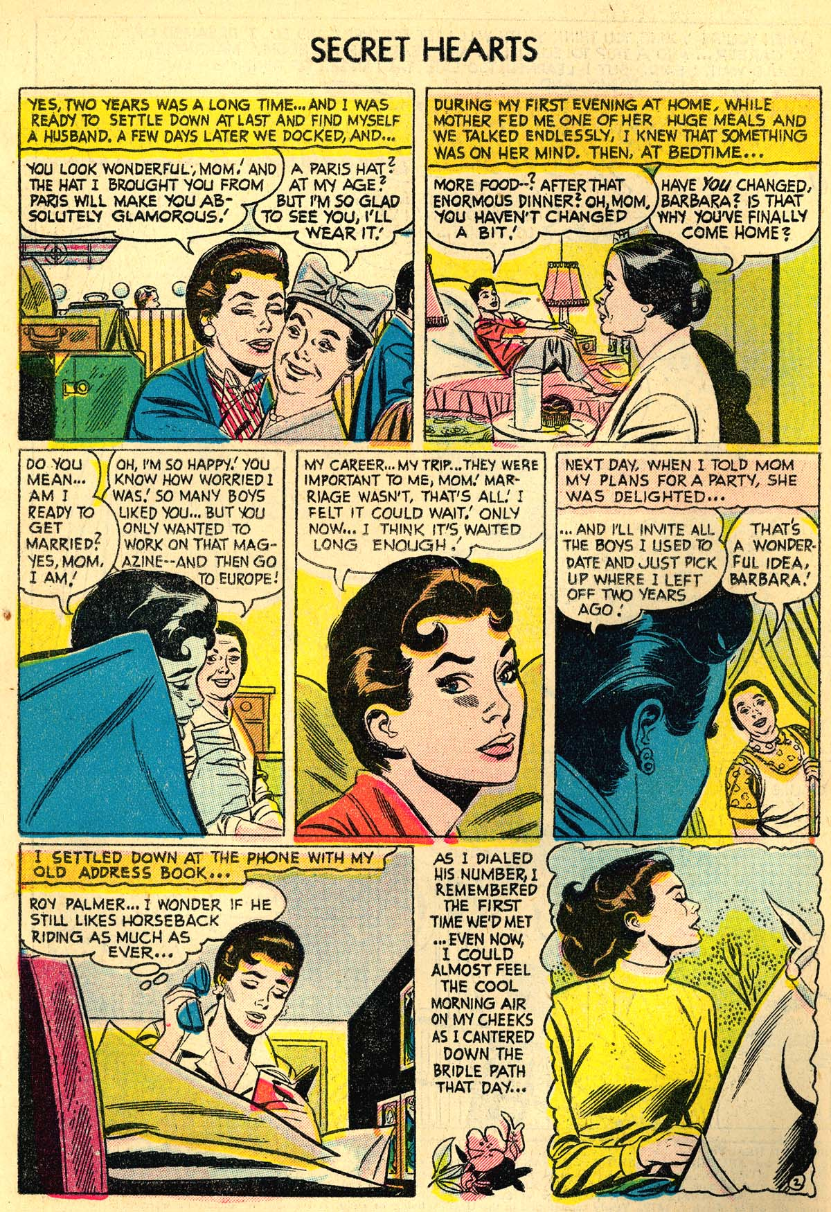Read online Secret Hearts comic -  Issue #30 - 4