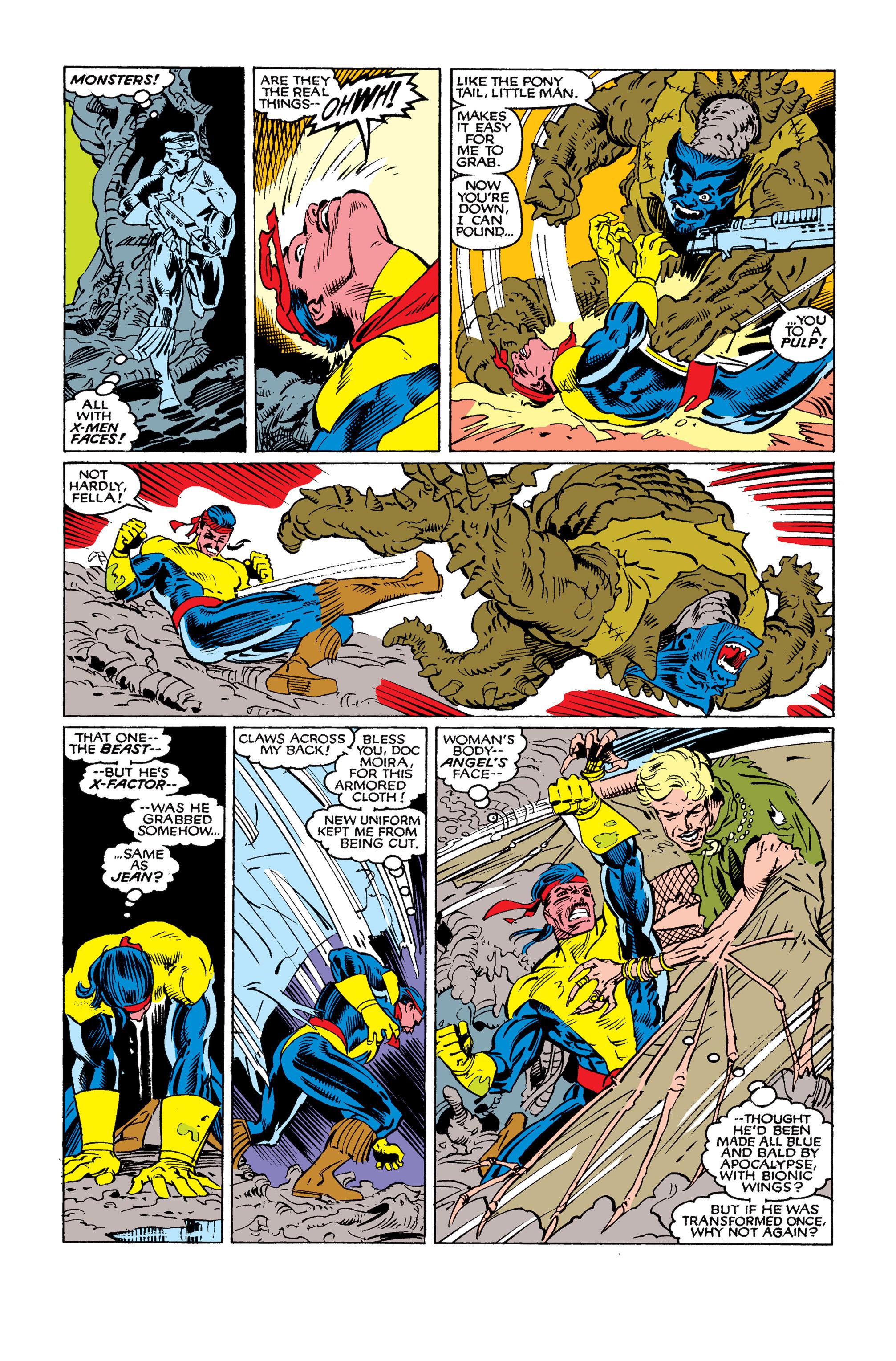 Read online Uncanny X-Men (1963) comic -  Issue #262 - 20