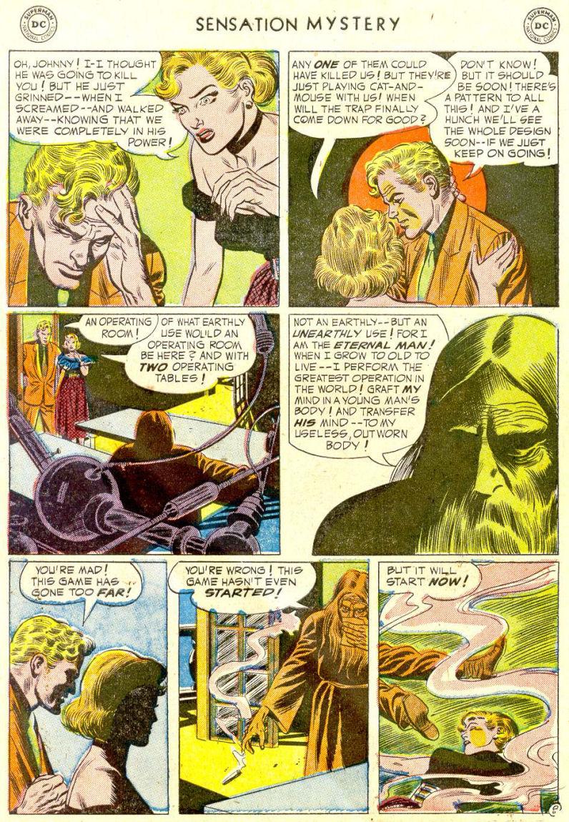Read online Sensation (Mystery) Comics comic -  Issue #112 - 10