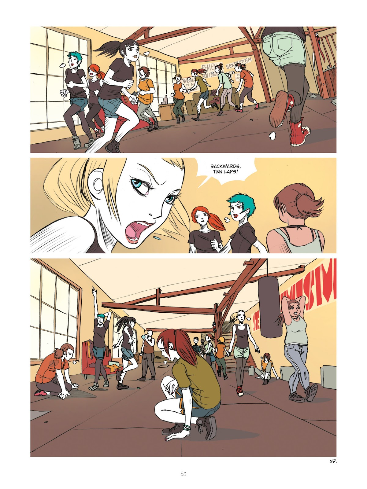 Read online Diary of A Femen comic -  Issue # TPB - 65