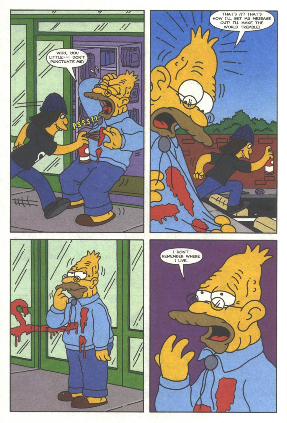 Read online Simpsons Comics comic -  Issue #37 - 7
