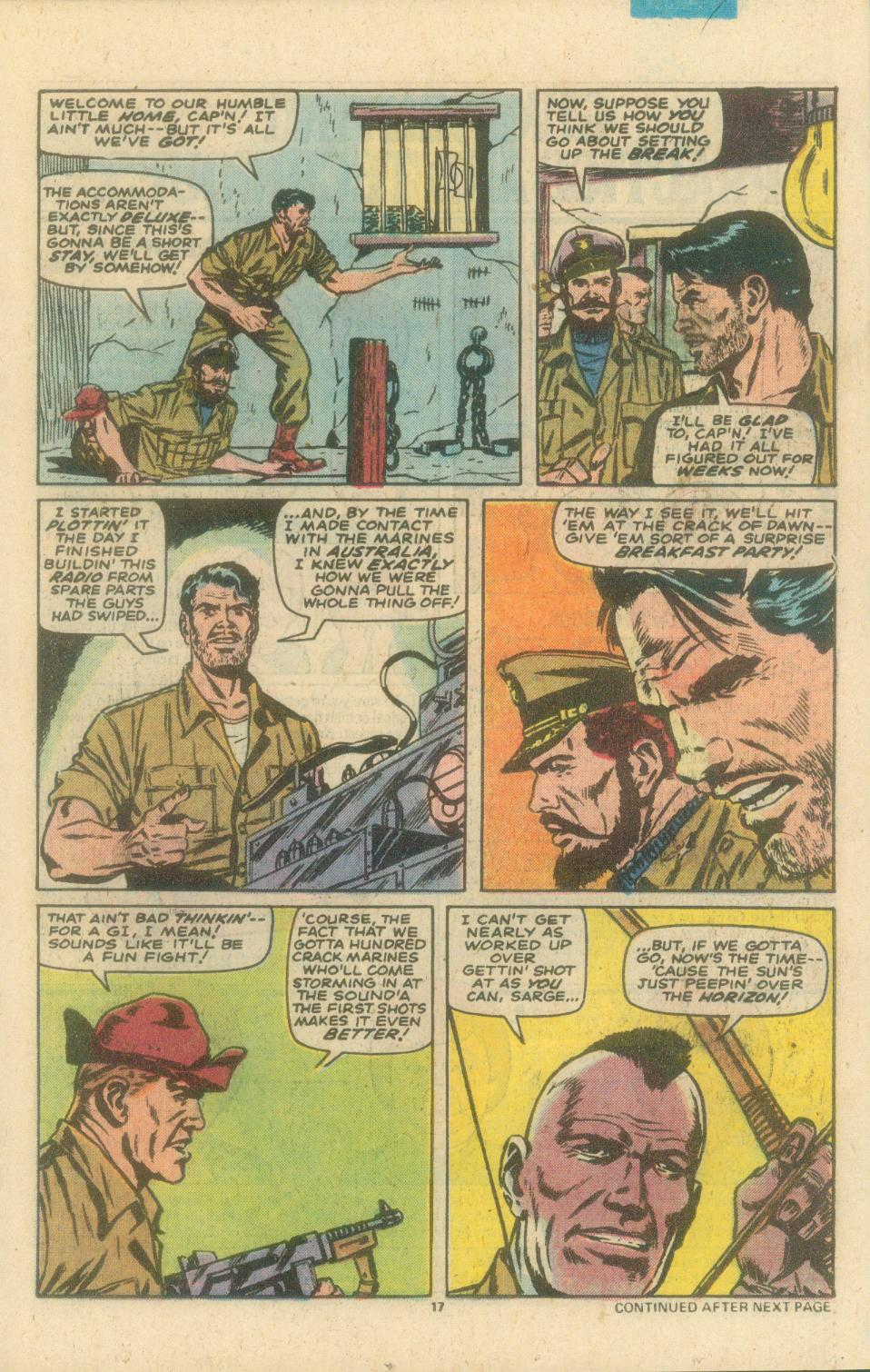 Read online Sgt. Fury comic -  Issue #154 - 19