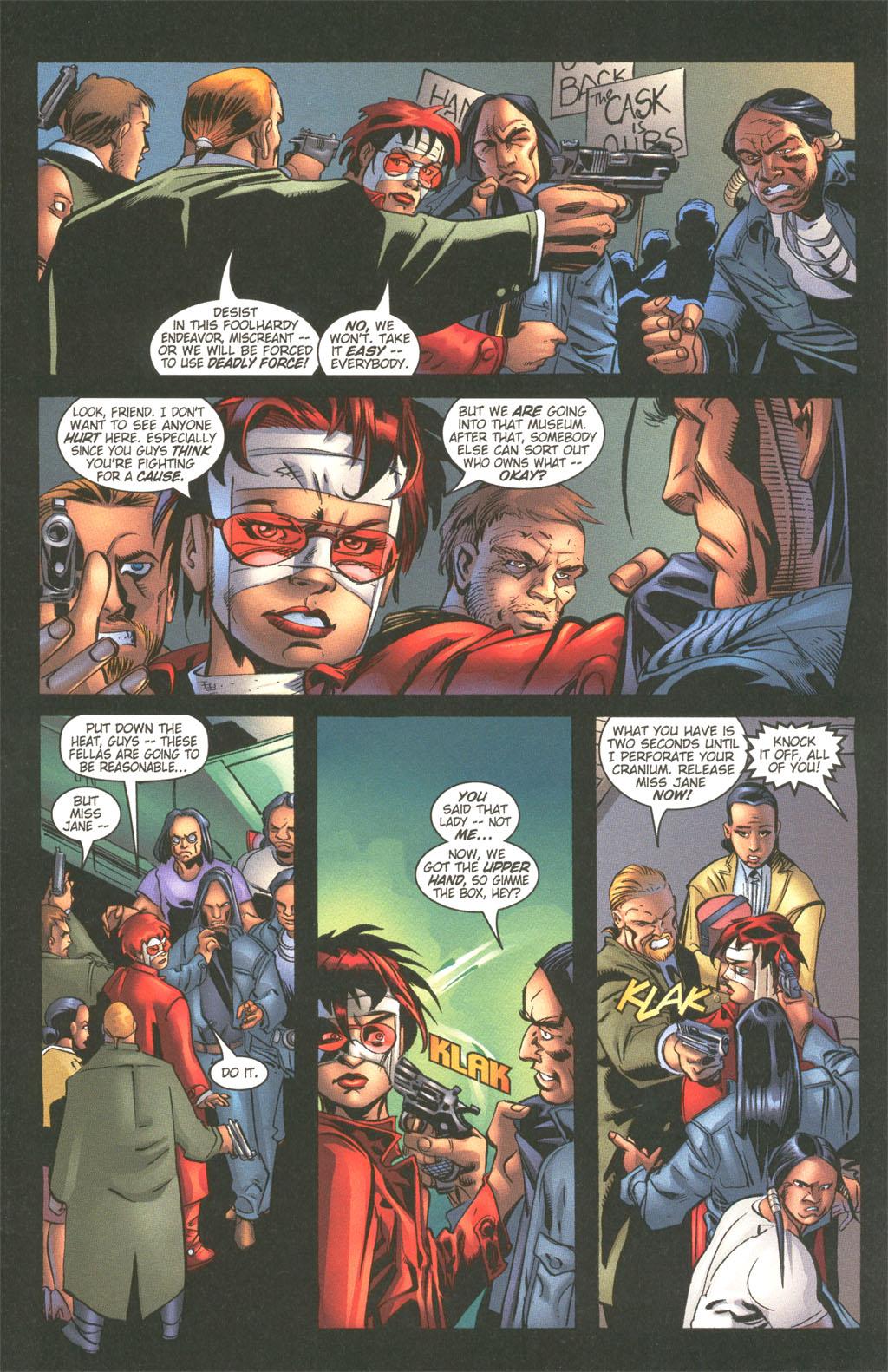 Read online Painkiller Jane/Hellboy comic -  Issue # Full - 5