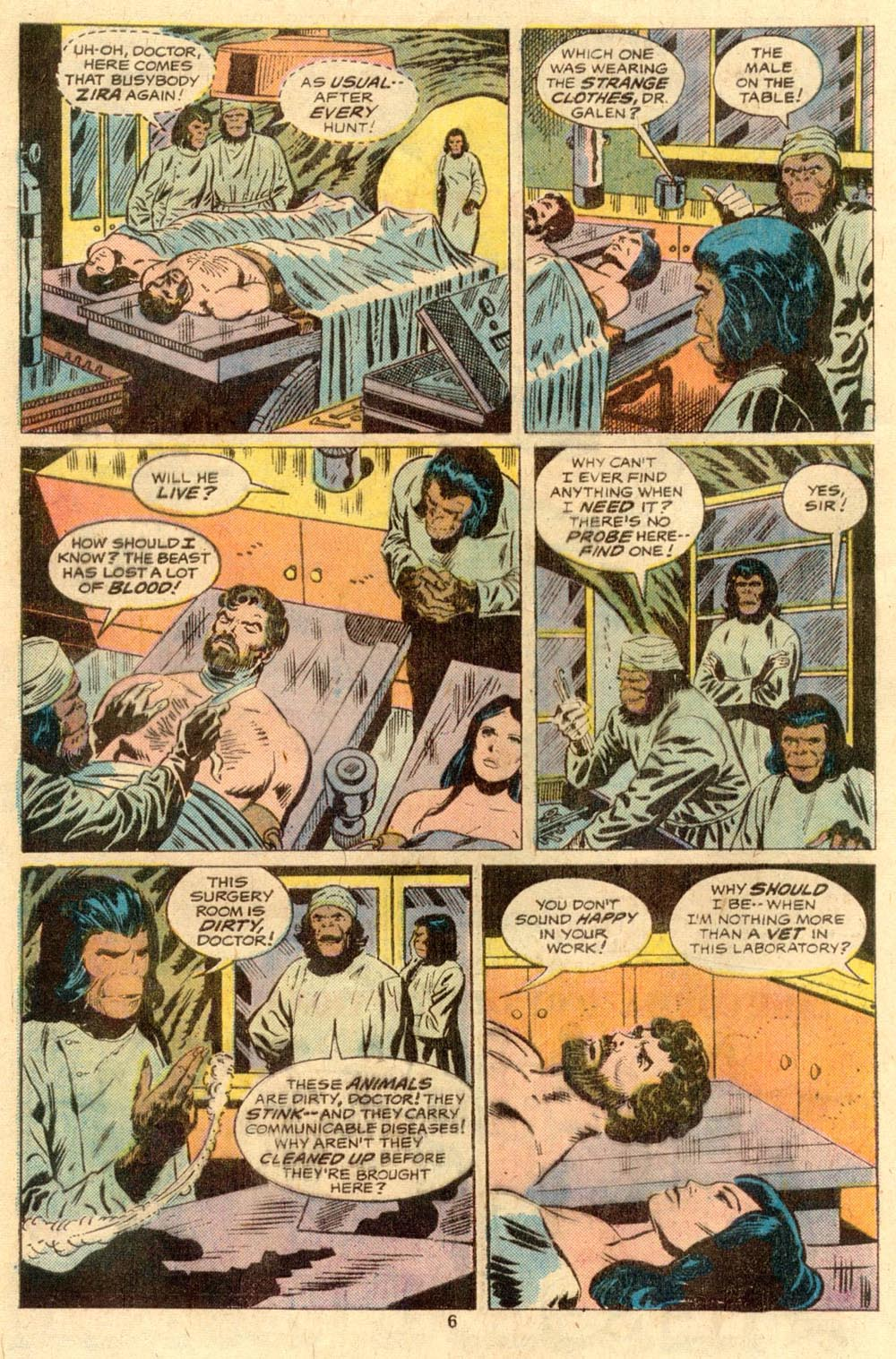 Read online Adventures on the Planet of the Apes comic -  Issue #2 - 5