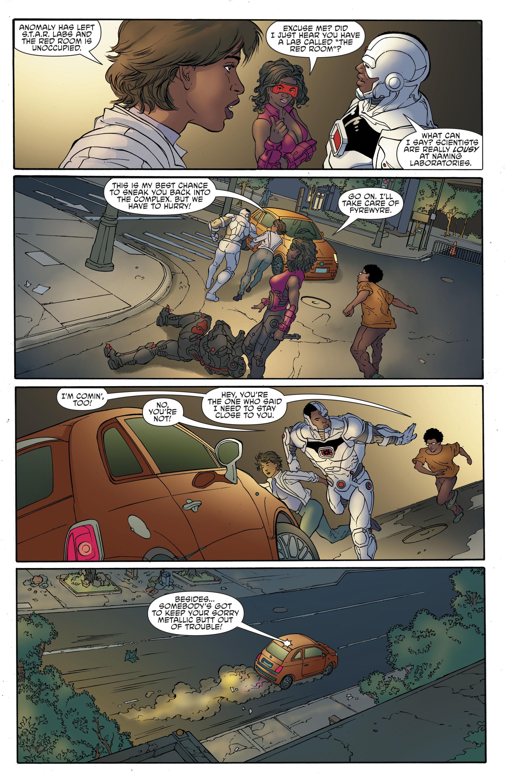Read online Cyborg (2016) comic -  Issue #13 - 19