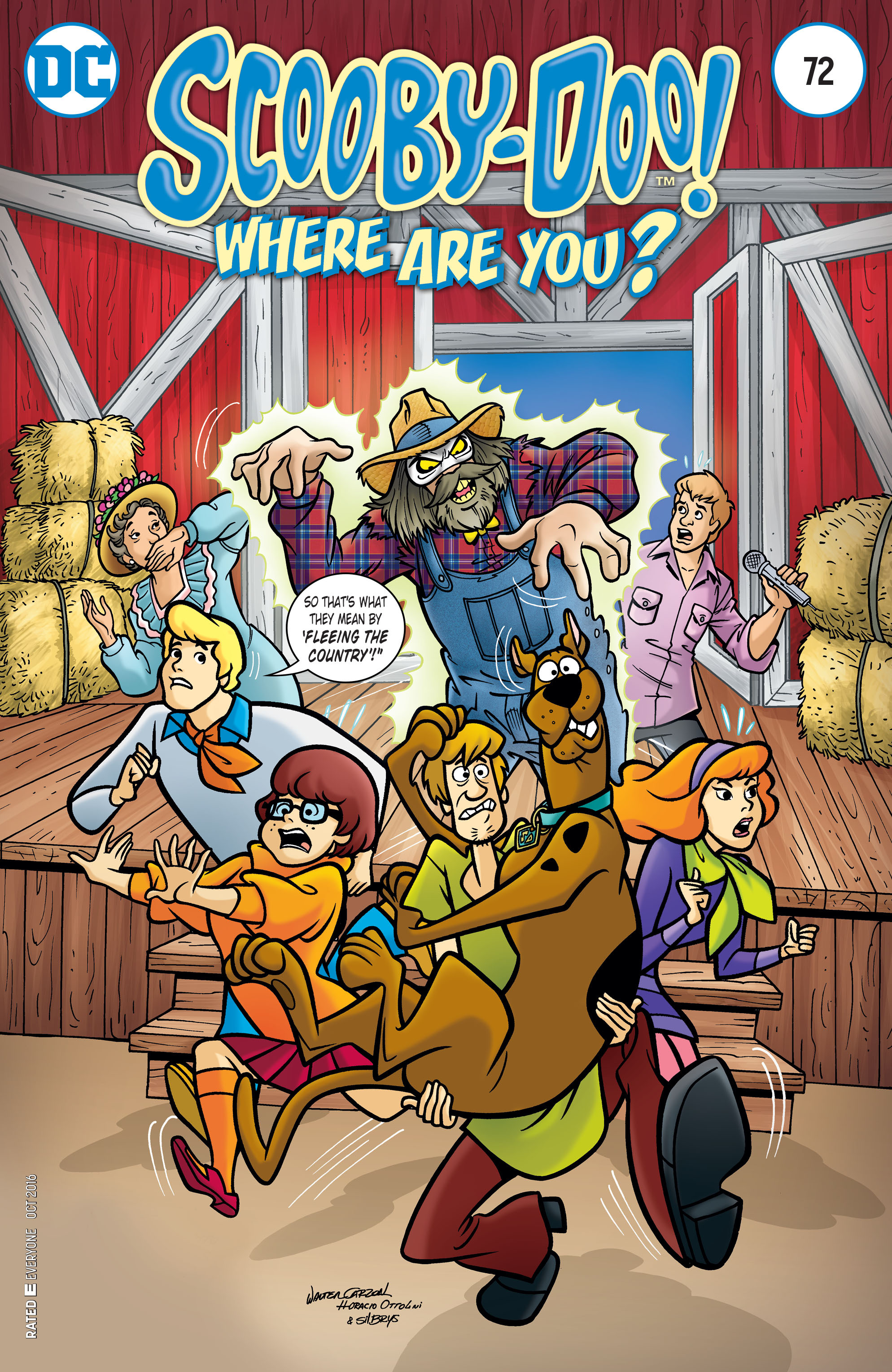 Read online Scooby-Doo: Where Are You? comic -  Issue #72 - 1