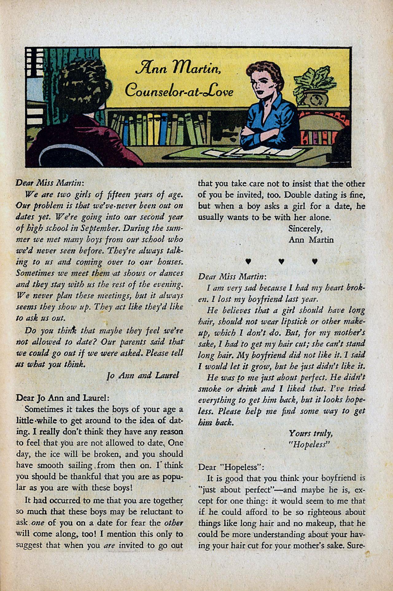 Read online Secret Hearts comic -  Issue #80 - 25
