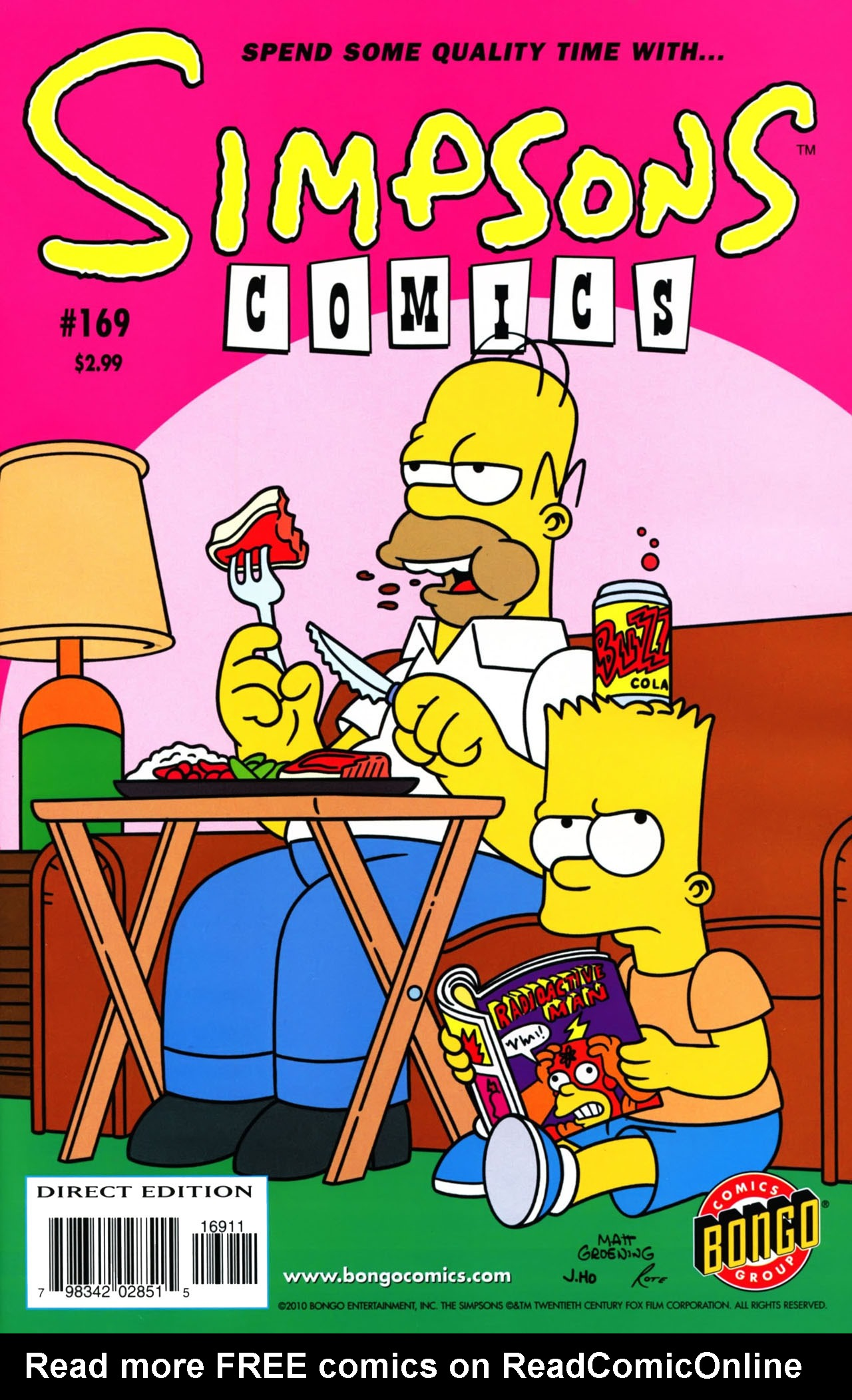 Read online Simpsons Comics comic -  Issue #169 - 1