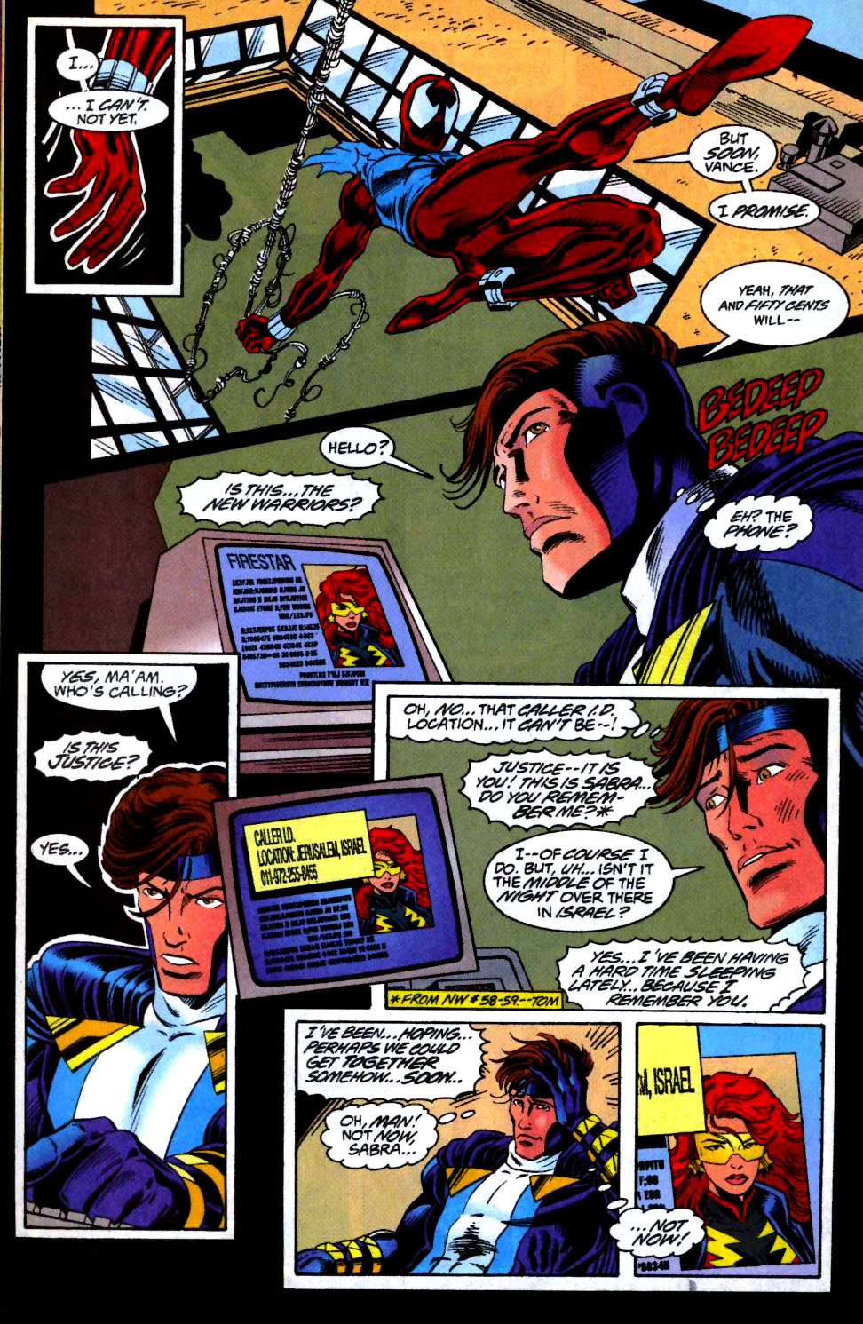 The New Warriors Issue #66 #70 - English 11