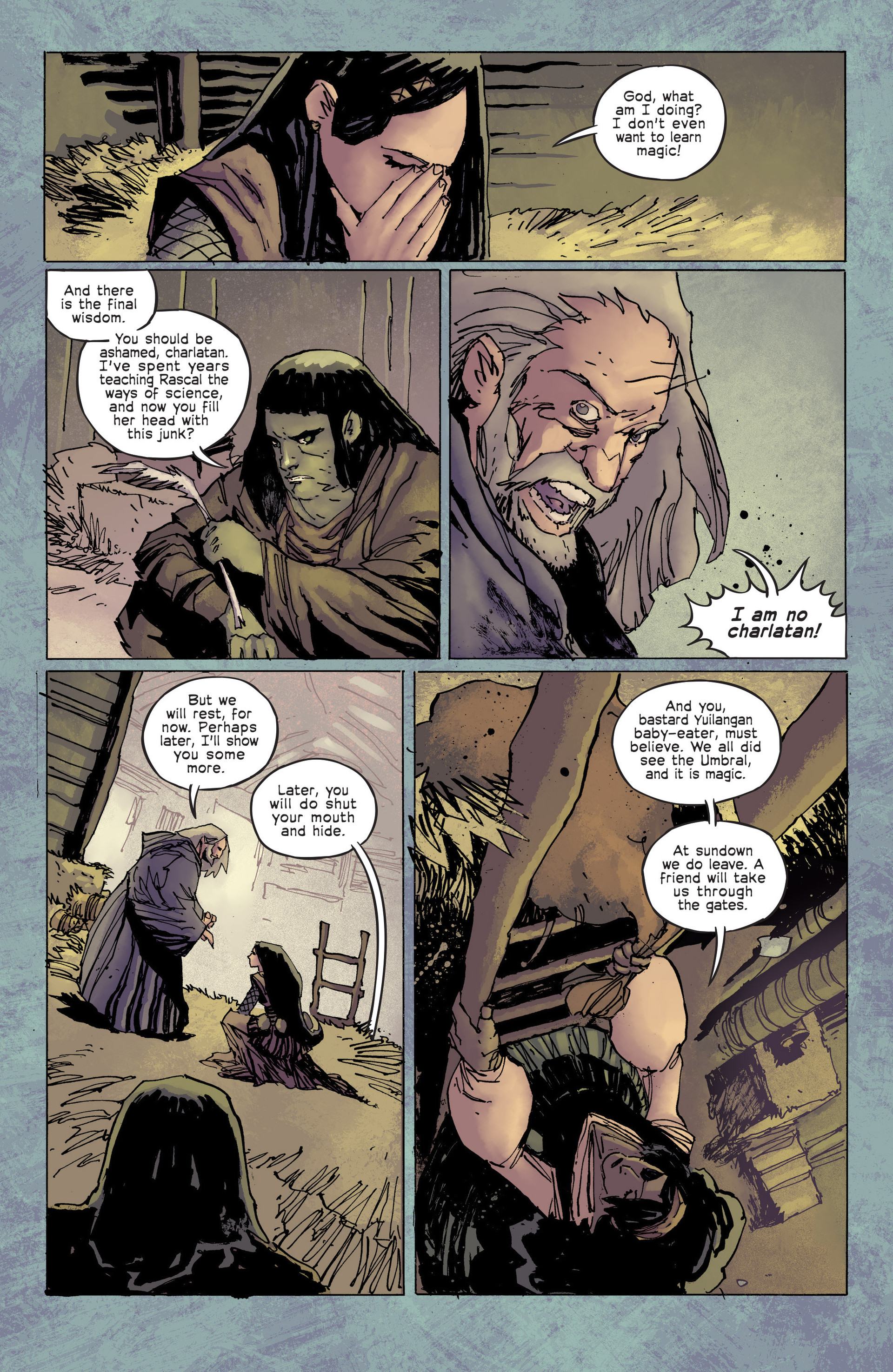 Read online Umbral comic -  Issue #6 - 12
