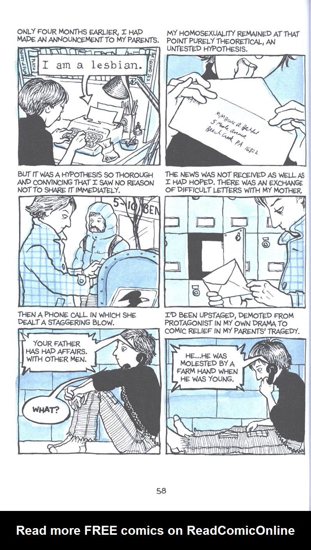 Read online Fun Home: A Family Tragicomic comic -  Issue # TPB - 65