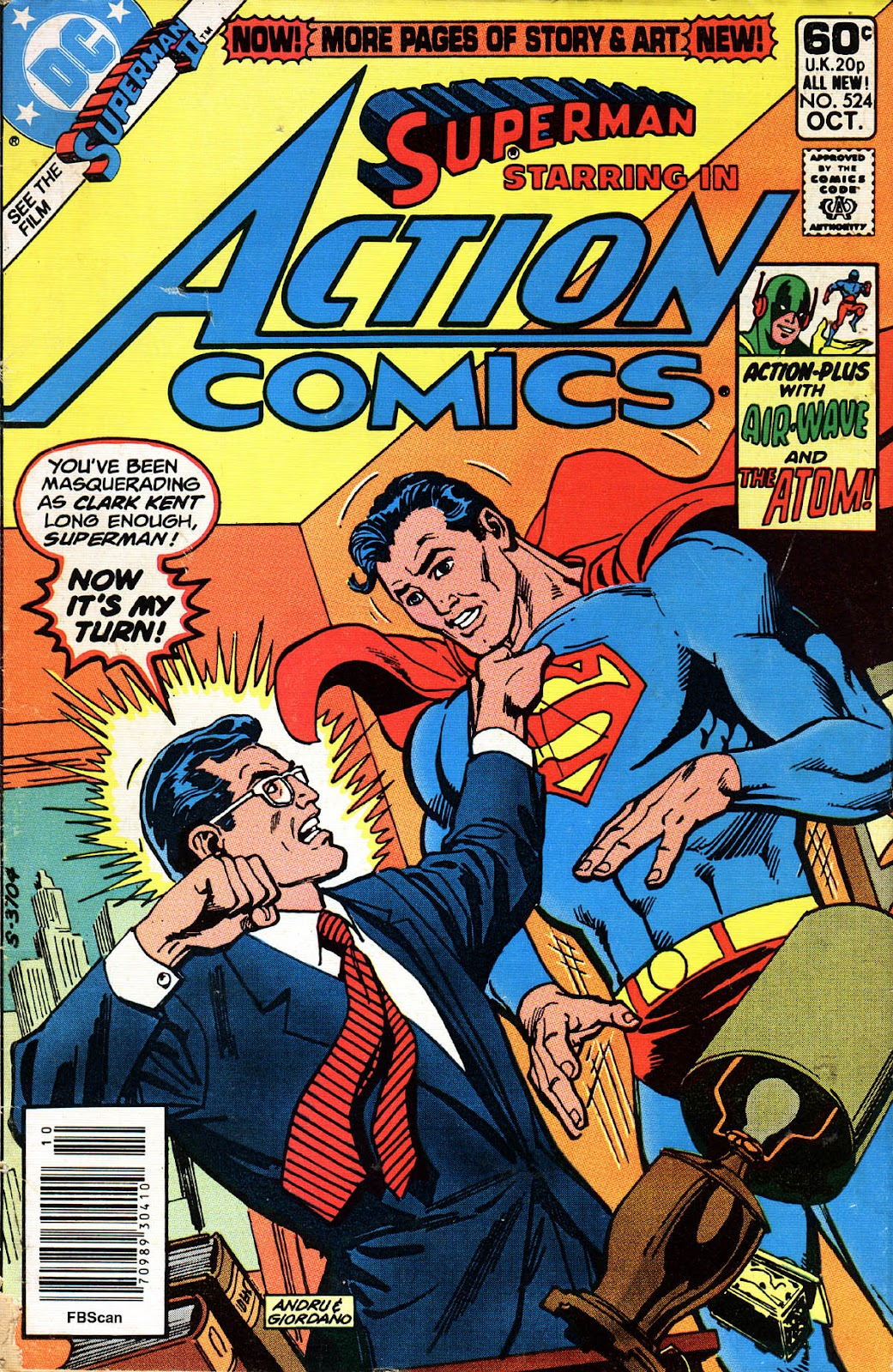 Action Comics (1938) 524 Page 1