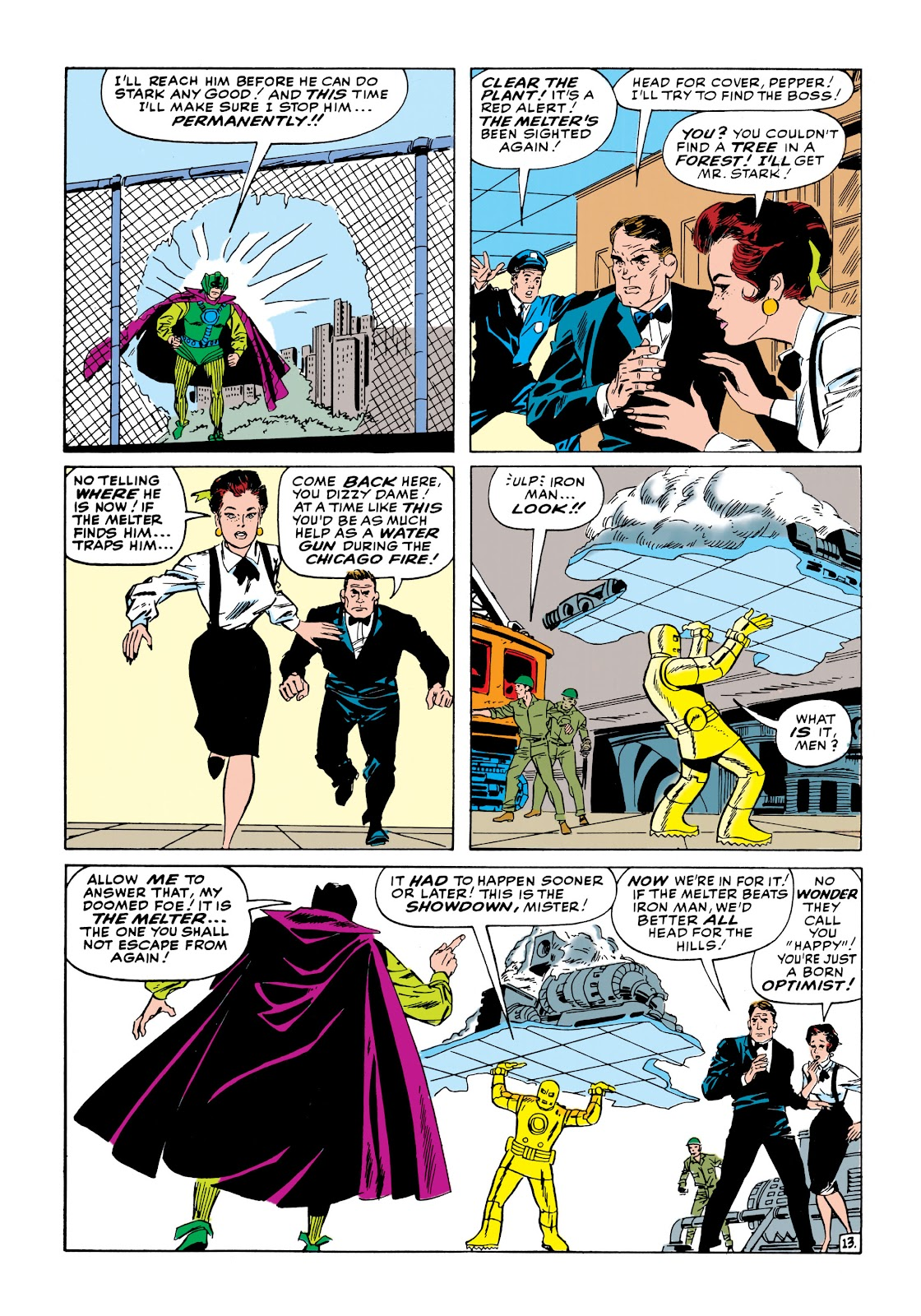 Read online Marvel Masterworks: The Invincible Iron Man comic -  Issue # TPB 1 (Part 2) - 33