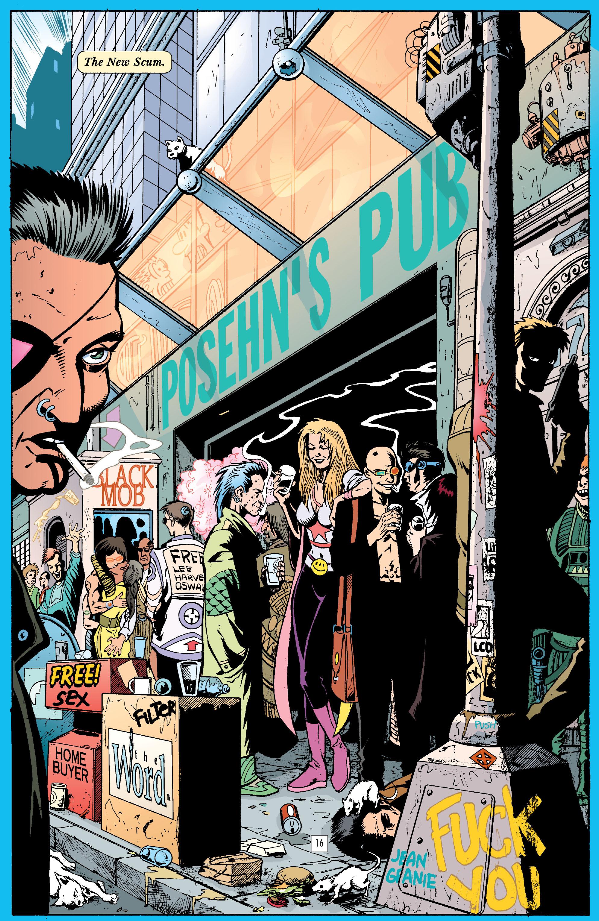 Read online Transmetropolitan comic -  Issue #23 - 17