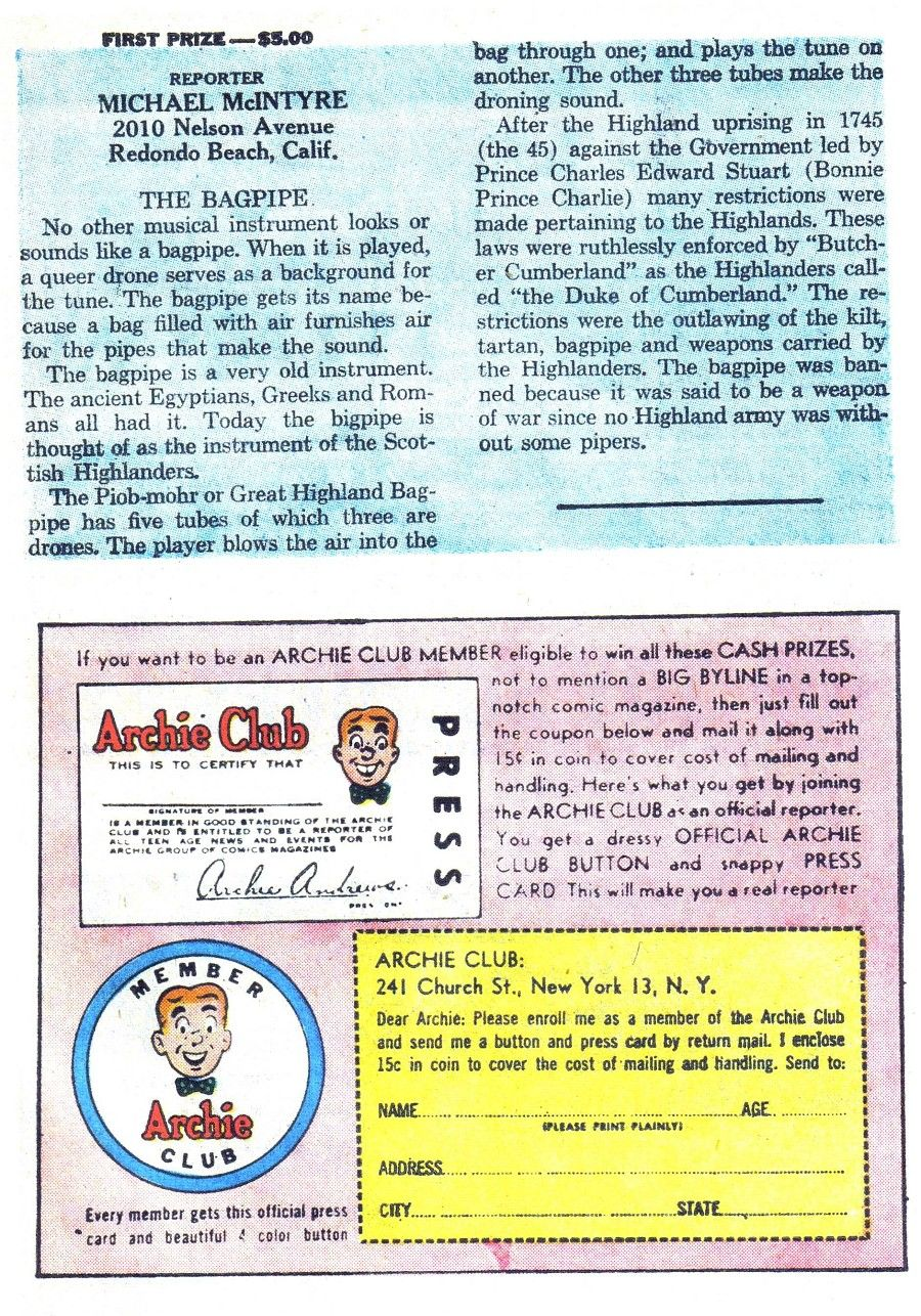 Read online Archie (1960) comic -  Issue #139 - 27