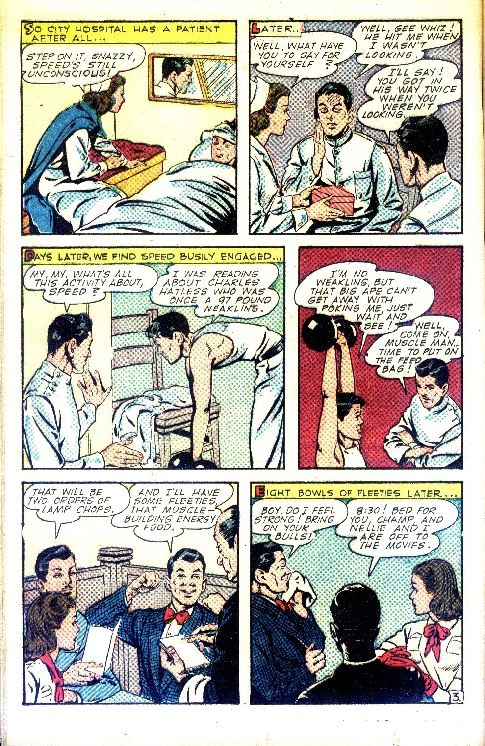 Read online Nellie The Nurse (1945) comic -  Issue #2 - 20
