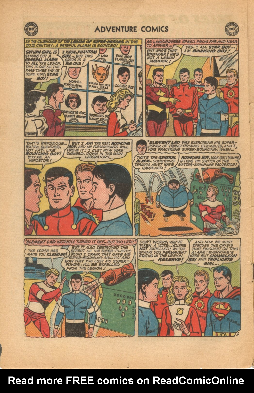 Read online Adventure Comics (1938) comic -  Issue #321 - 4