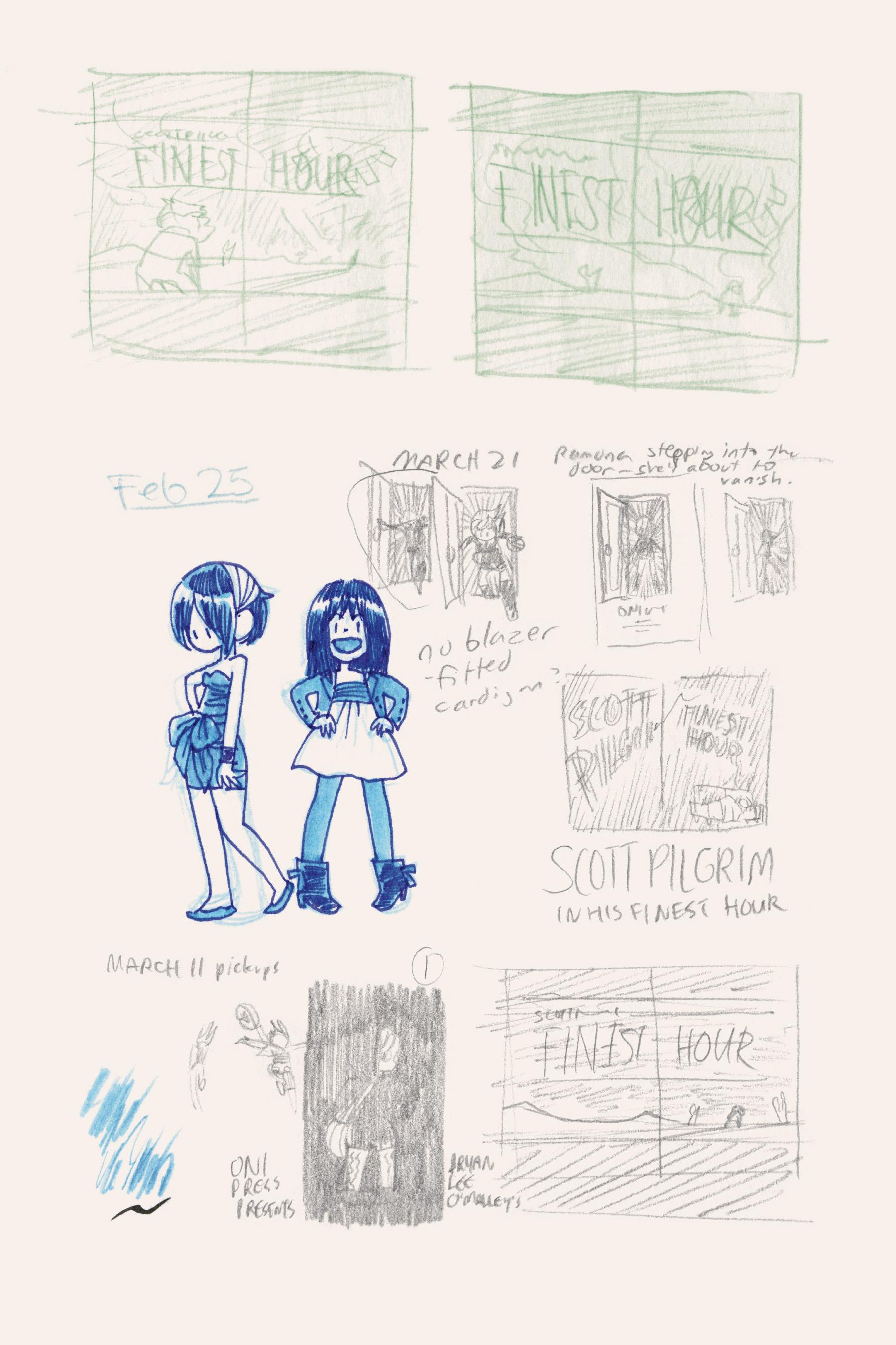 Read online Scott Pilgrim comic -  Issue #6 - 274