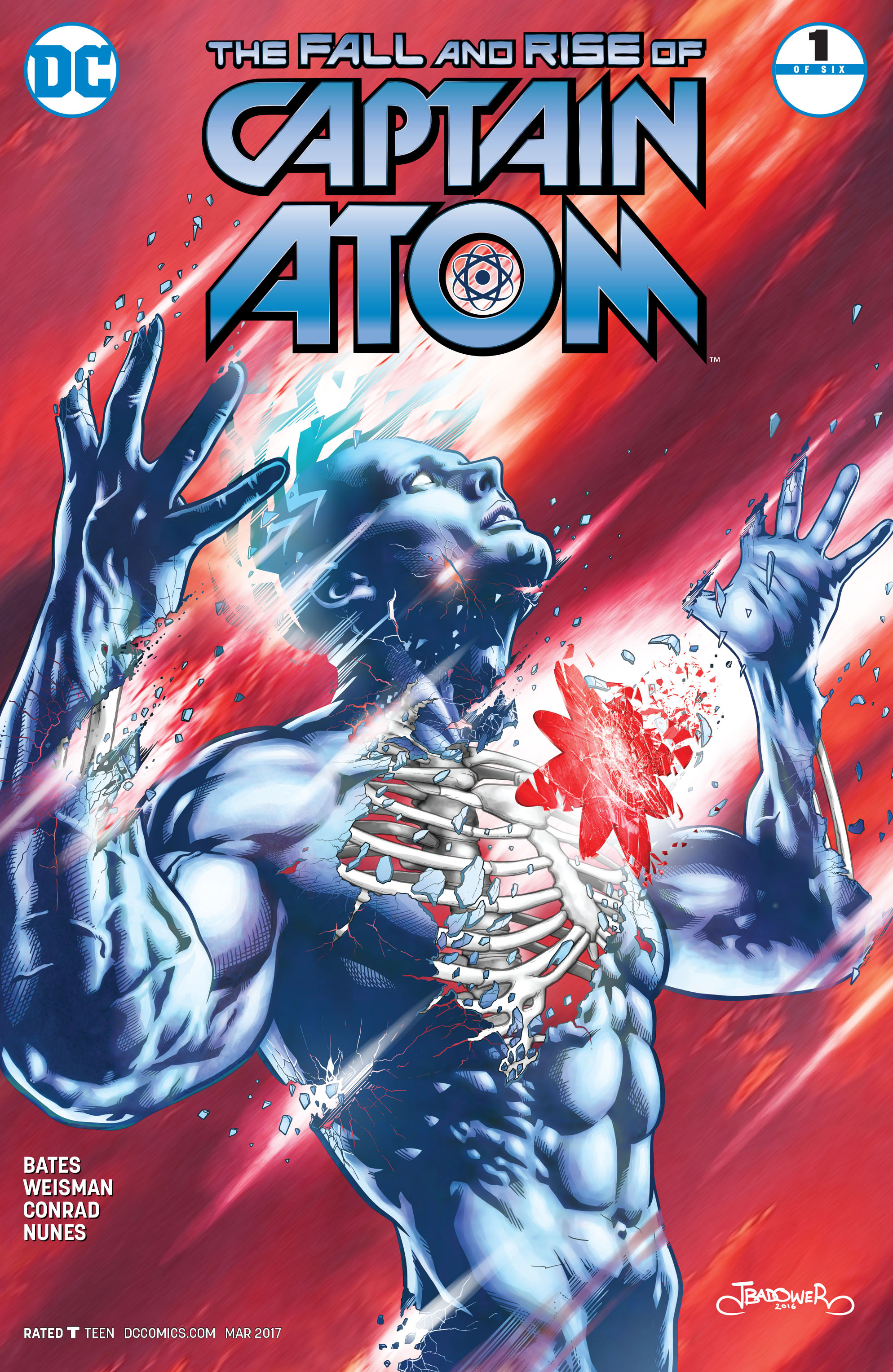 The Fall and Rise of Captain Atom 1 Page 1
