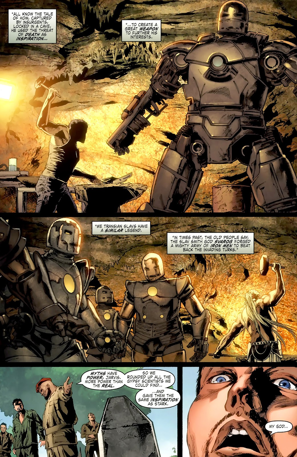 Comic Iron Man: Legacy issue 2
