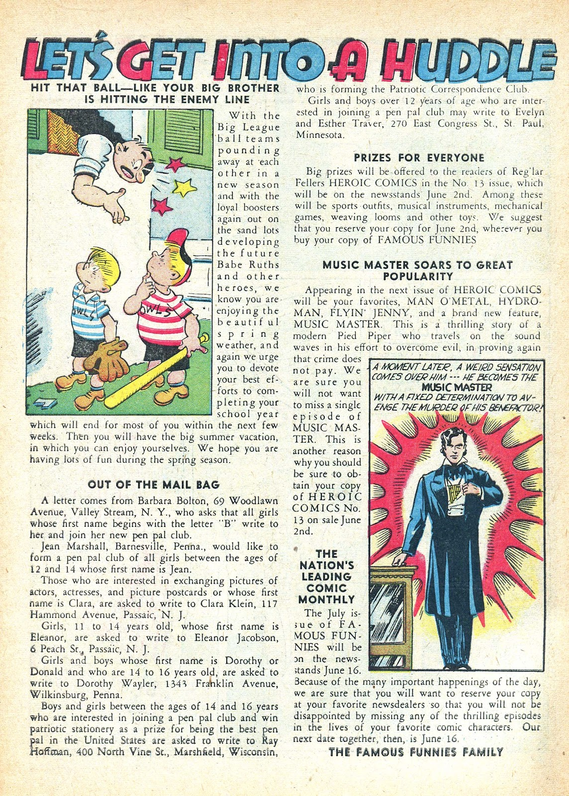 Read online Famous Funnies comic -  Issue #95 - 10