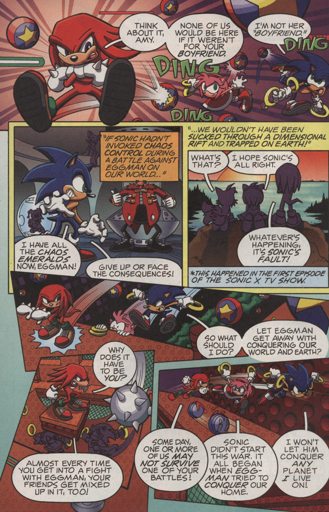 Read online Sonic X comic -  Issue #11 - 4