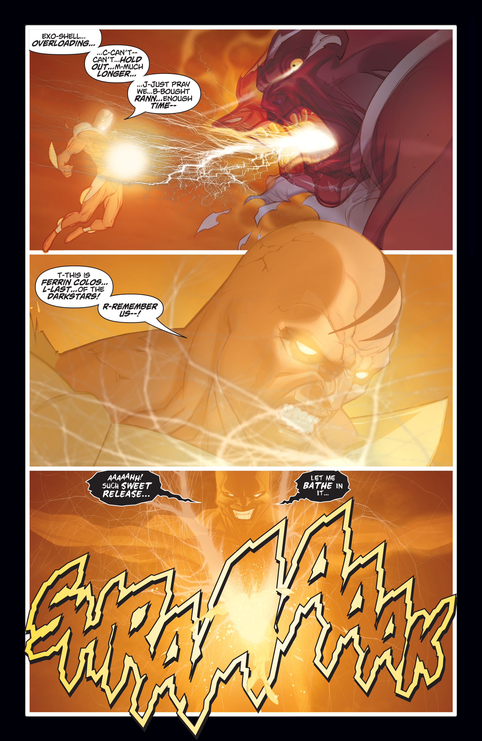 Read online Adam Strange (2004) comic -  Issue #8 - 17