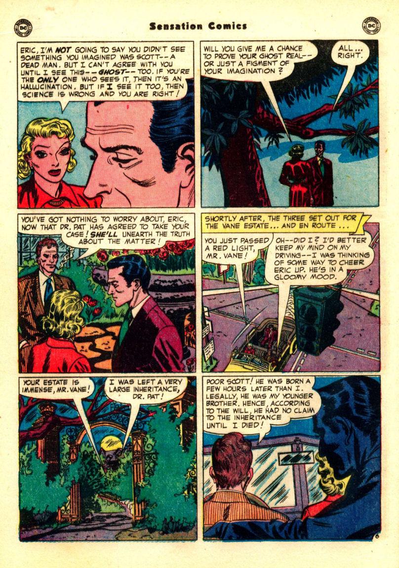 Read online Sensation (Mystery) Comics comic -  Issue #99 - 22