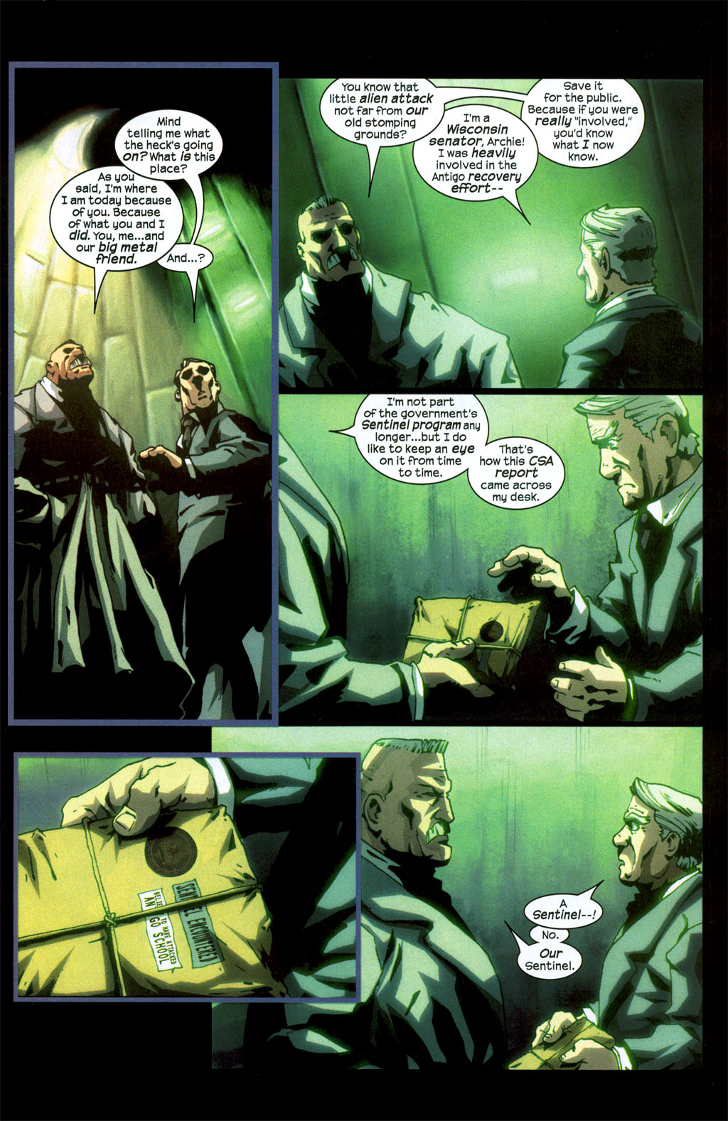 Read online Sentinel (2006) comic -  Issue #1 - 23