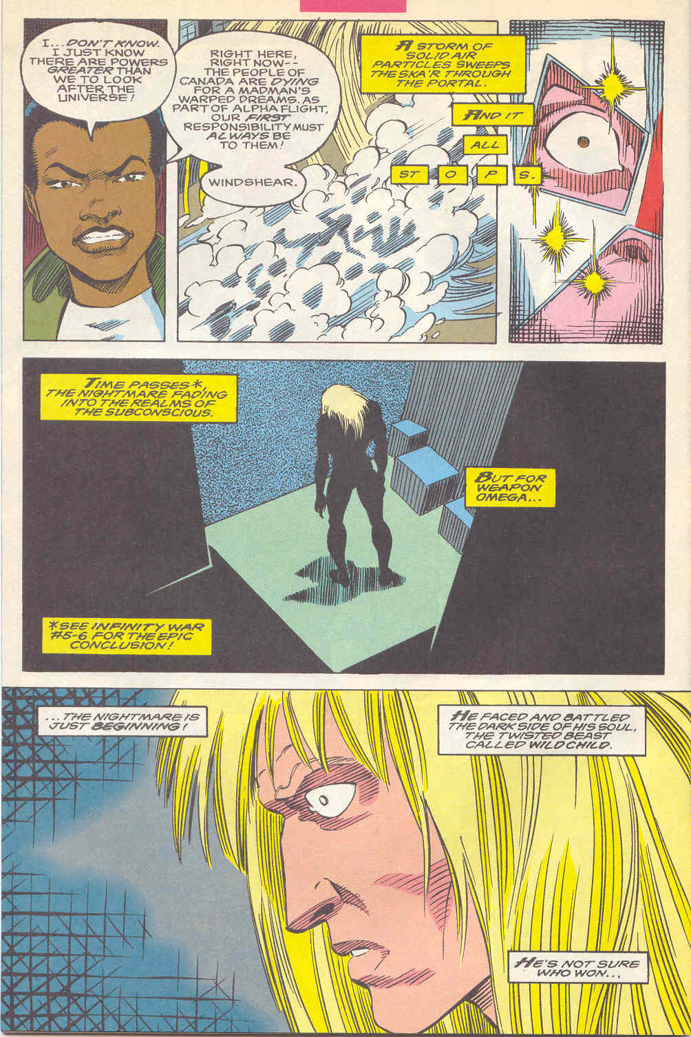 Read online Alpha Flight (1983) comic -  Issue #112 - 22