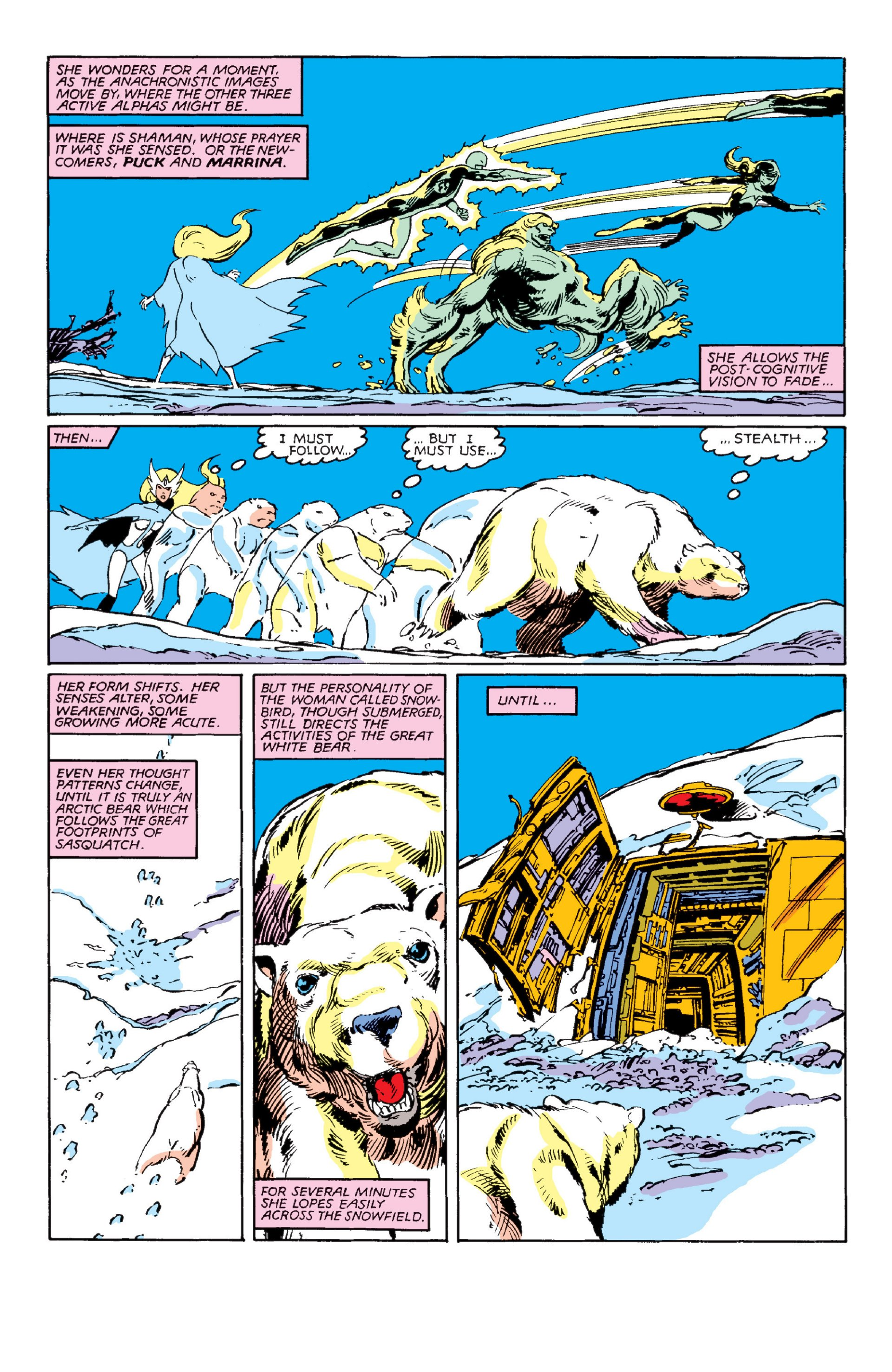 Read online Alpha Flight (1983) comic -  Issue #3 - 6