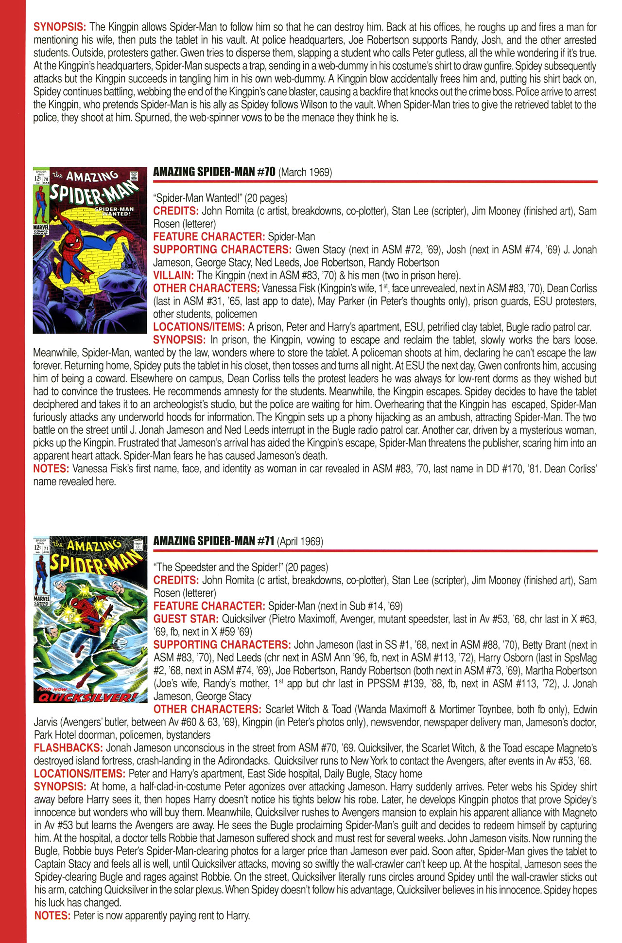 Read online Official Index to the Marvel Universe comic -  Issue #2 - 10