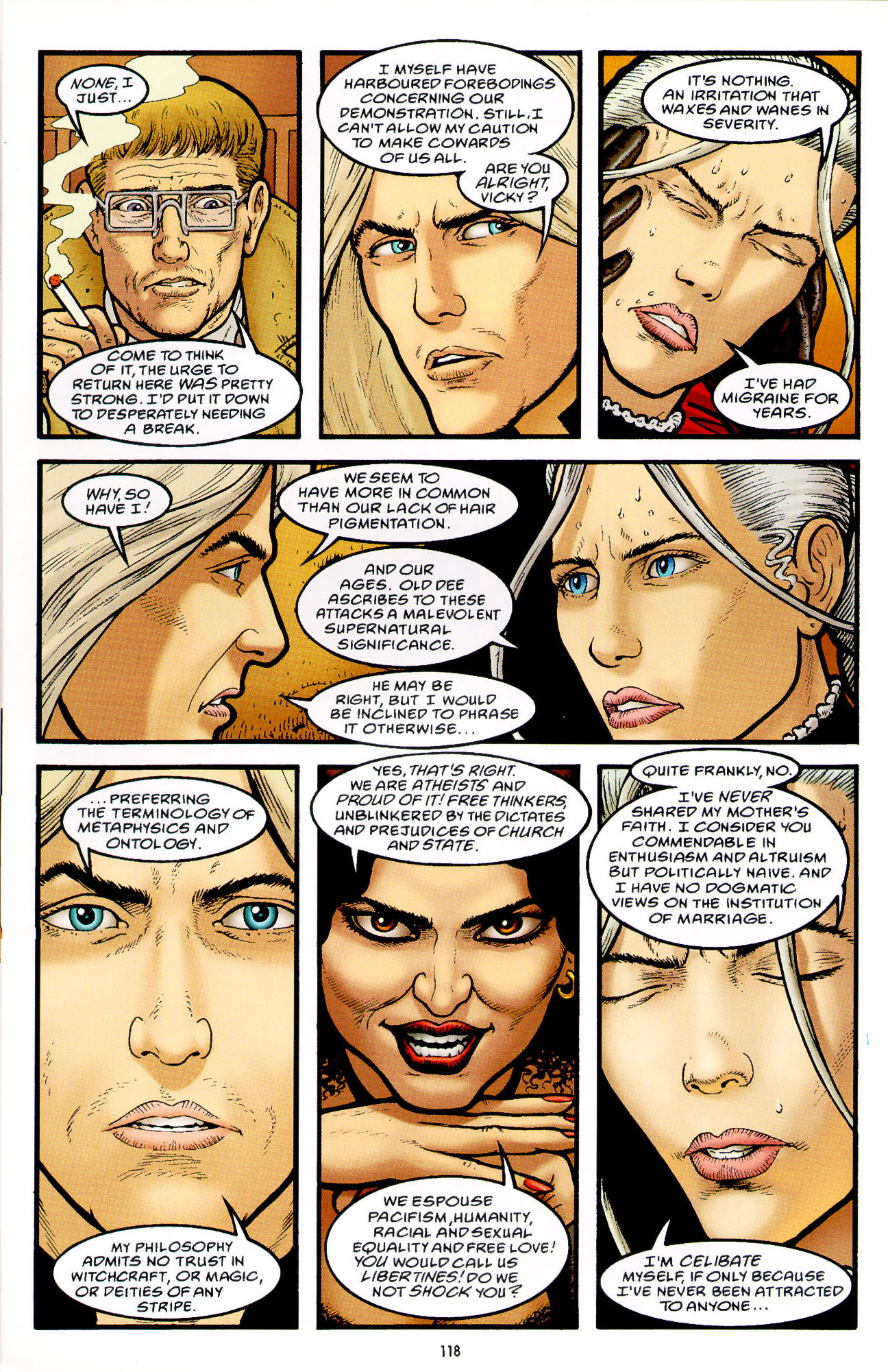 Read online Heart of Empire comic -  Issue #4 - 22