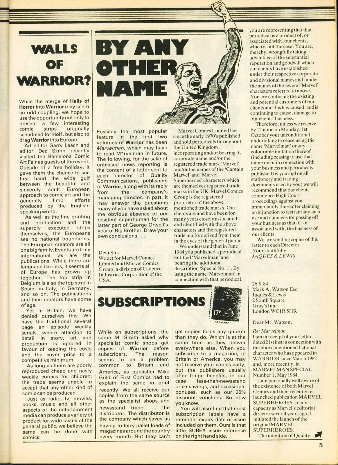 Warrior Issue #25 #26 - English 5