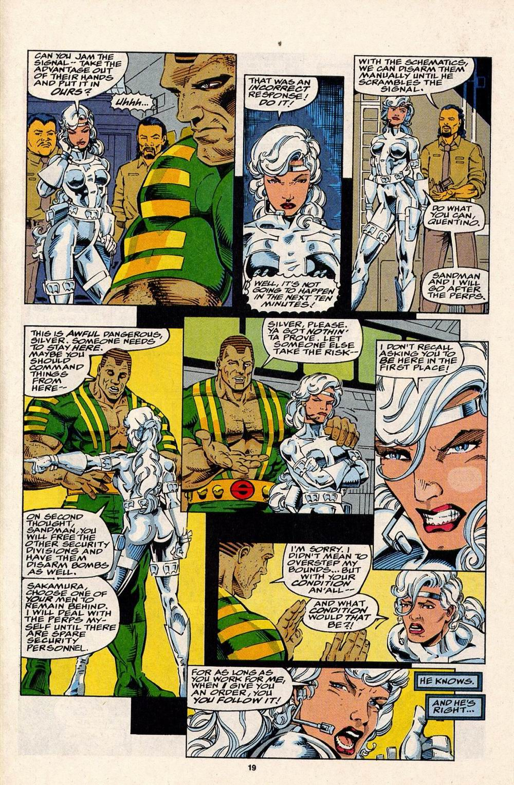 Read online Silver Sable and the Wild Pack comic -  Issue #32 - 15