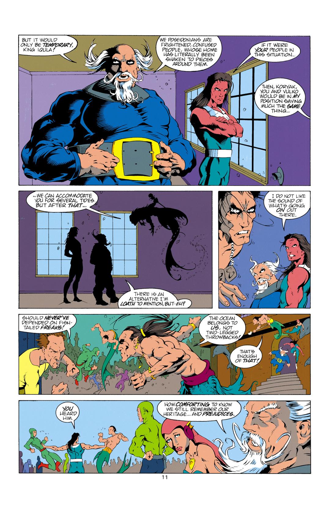 Read online Aquaman (1994) comic -  Issue #12 - 12
