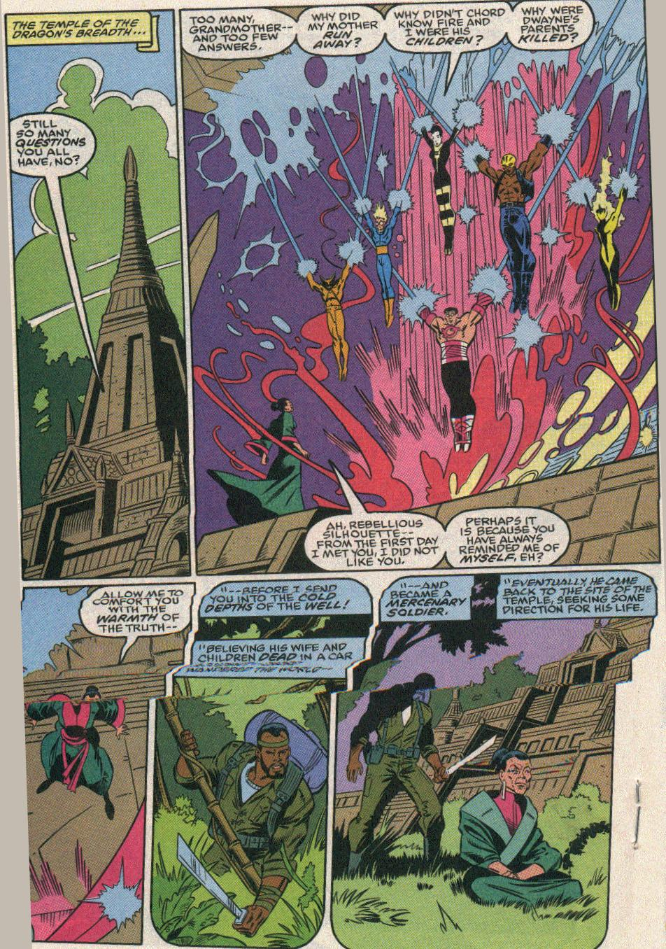 The New Warriors Issue #25 #29 - English 21