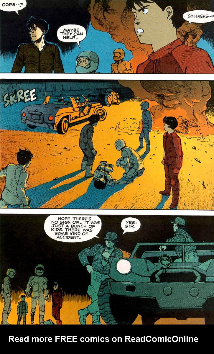 Read online Akira comic -  Issue #1 - 24