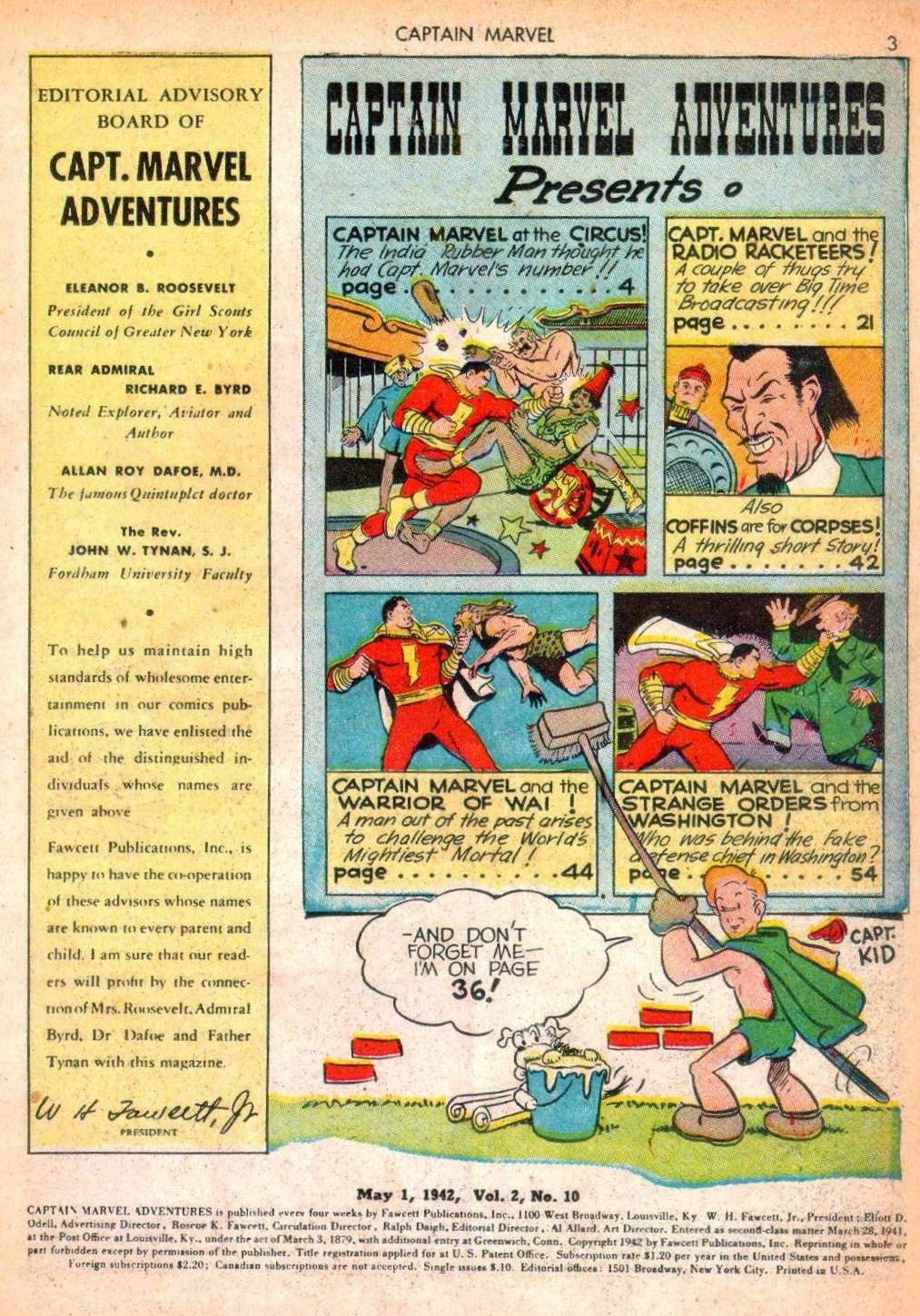 Captain Marvel Adventures issue 10 - Page 3