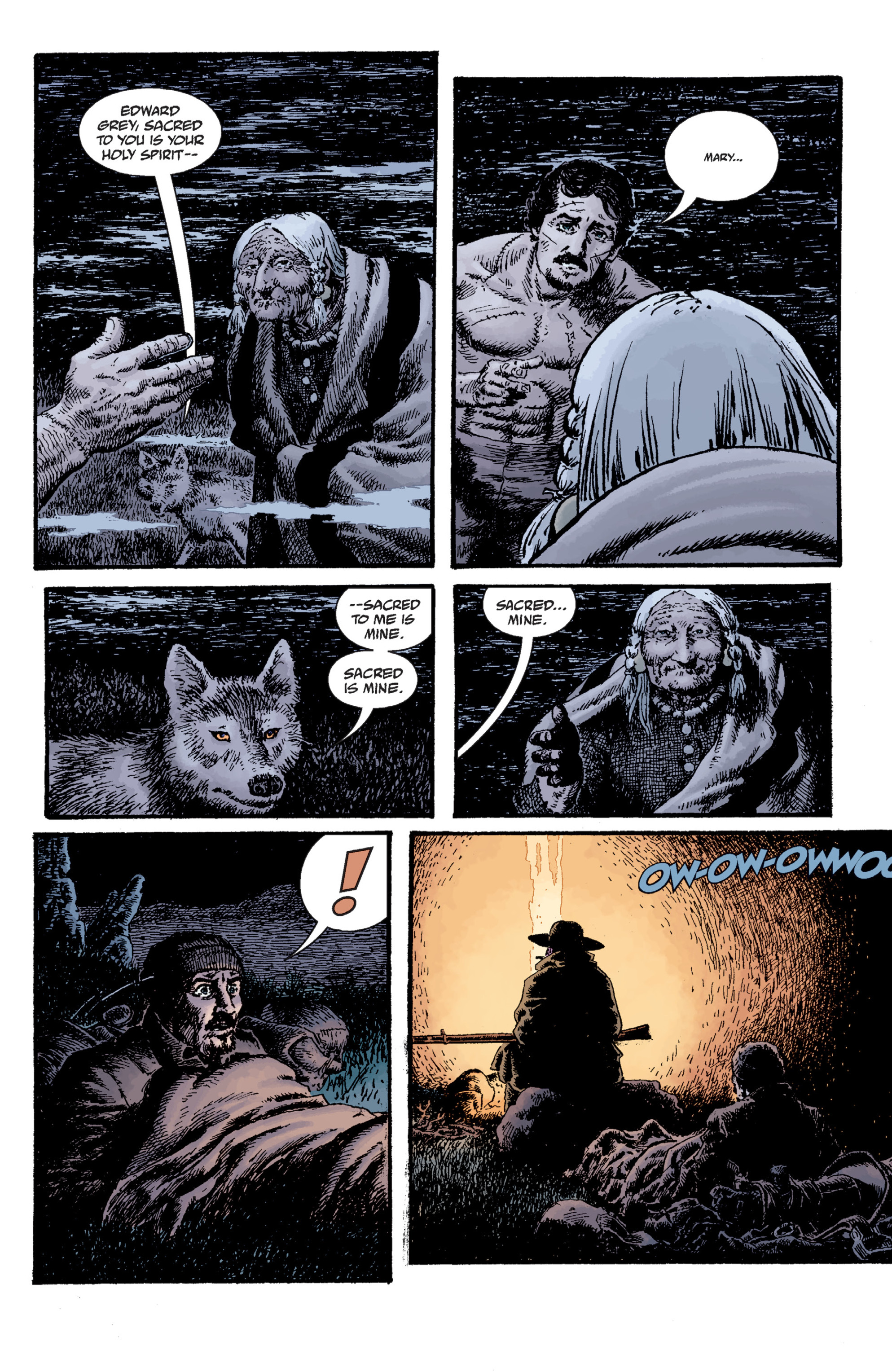 Read online Sir Edward Grey, Witchfinder: Lost and Gone Forever comic -  Issue # TPB - 74