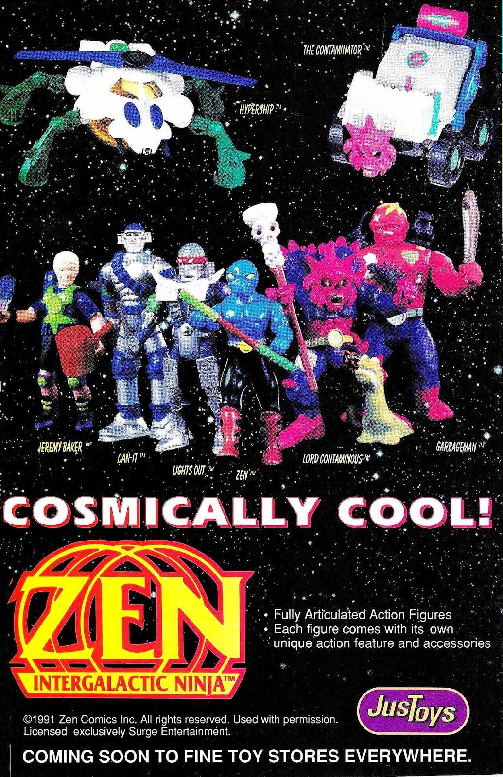 Read online Zen Intergalactic Ninja (1992) comic -  Issue #2 - 32