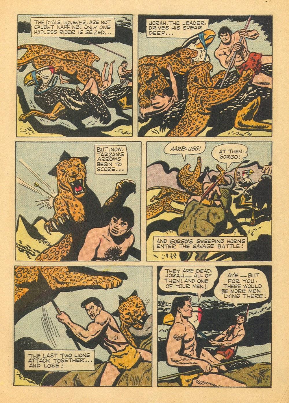 Tarzan (1948) issue 60 - Page 9
