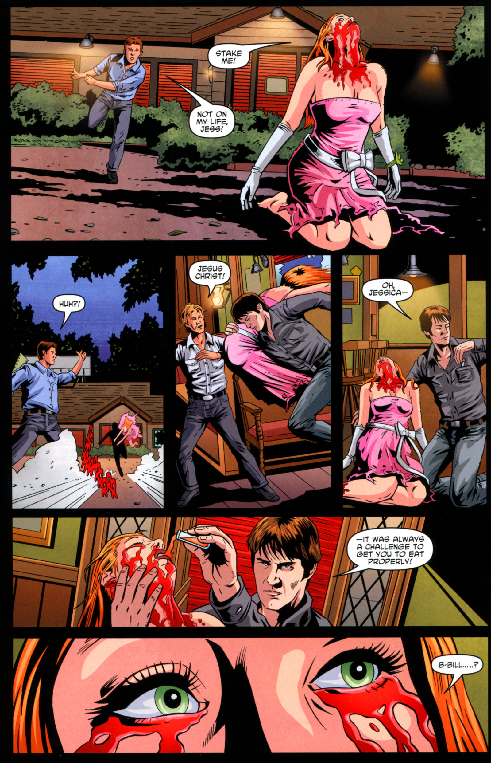 Read online True Blood: Tainted Love comic -  Issue #6 - 21