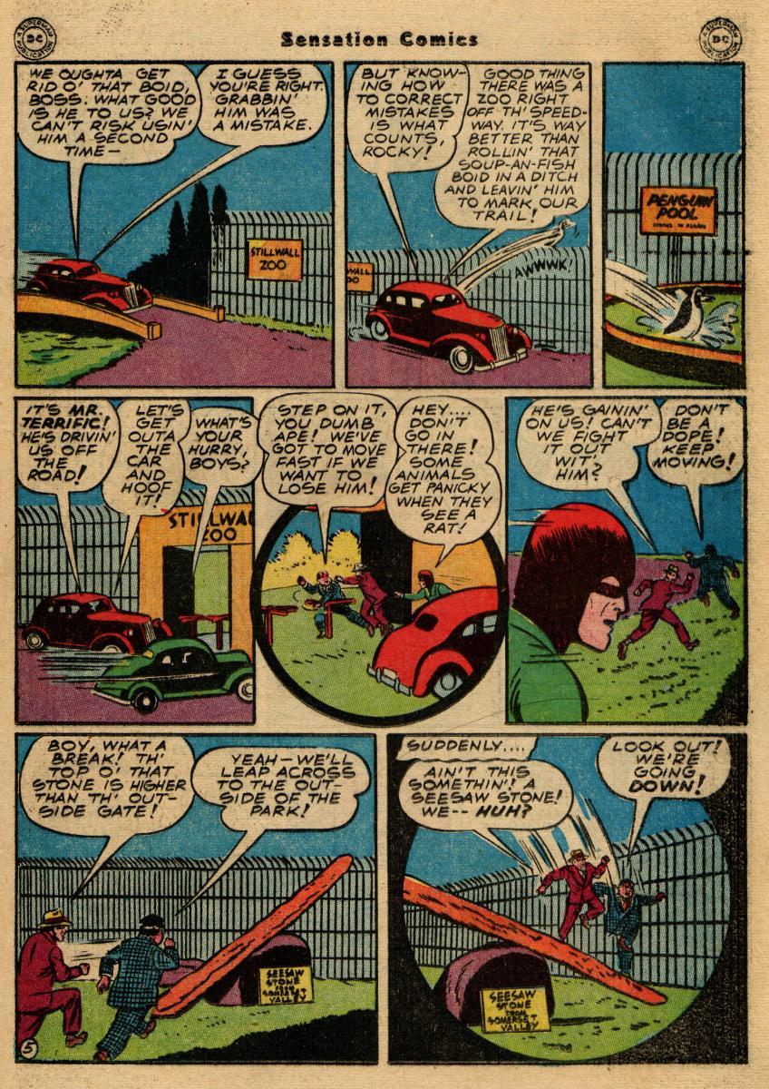 Read online Sensation (Mystery) Comics comic -  Issue #61 - 37