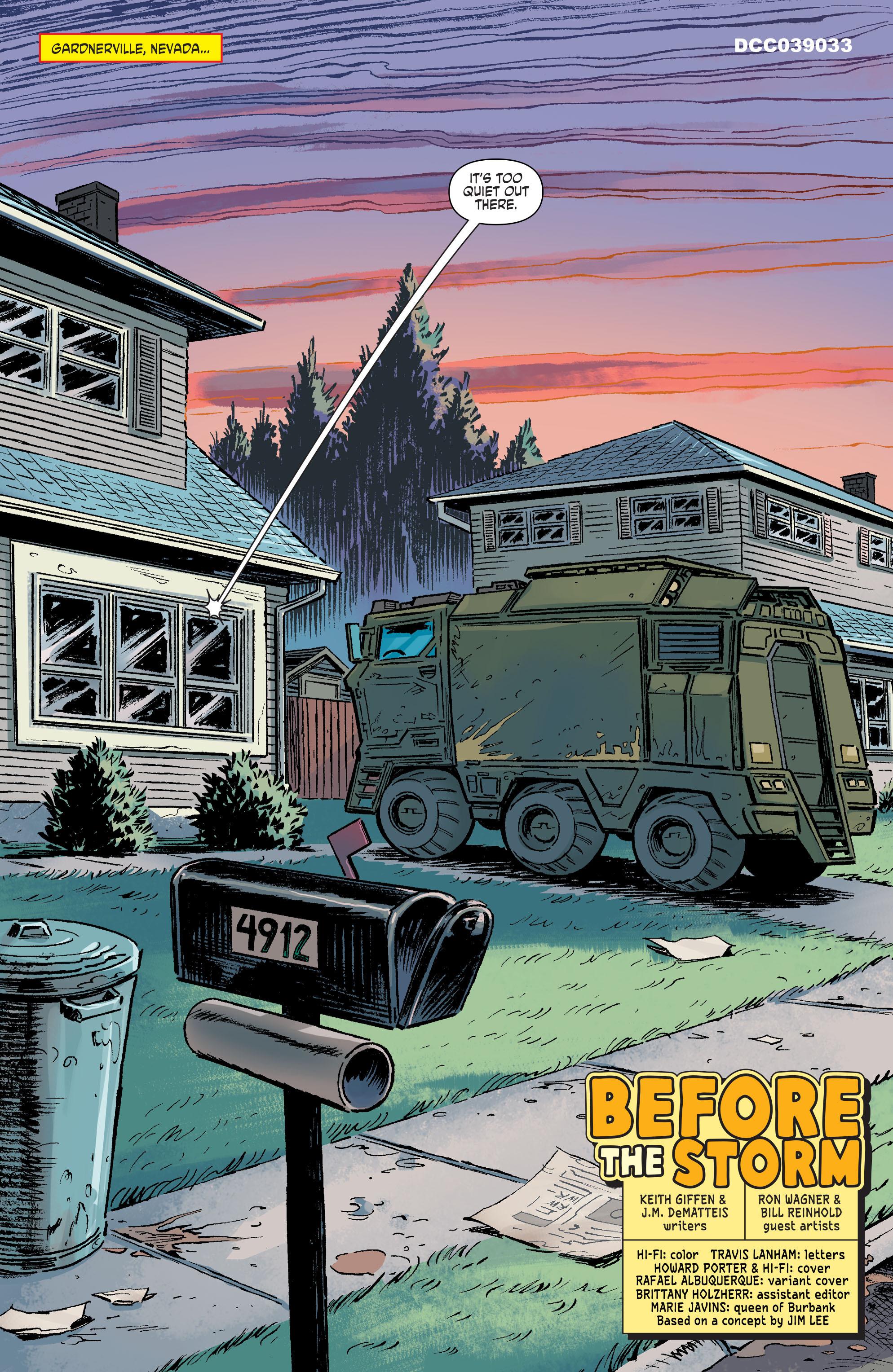 Read online Scooby Apocalypse comic -  Issue #9 - 4