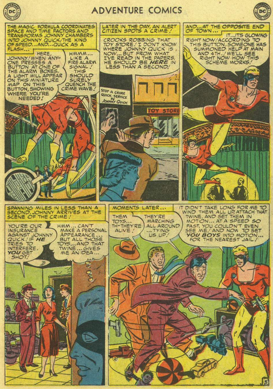Read online Adventure Comics (1938) comic -  Issue #167 - 27